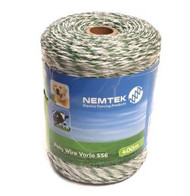 Nemtek Electric Fence Polywire Vario 400M SS6 [NMT005]