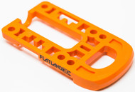 2018 Flatland 3D Boosted Board Bash Guard - Orange Rounded