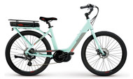 2018 Raleigh IE Sprite Step Thru - Turquoise