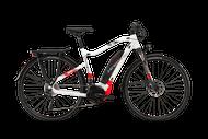 2018 Haibike Sduro Trekking 6.0 High-Step Electric Mountain Bike