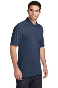 PA Digi Men's Heather Performance Polo