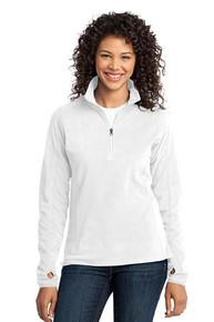 Port Authority Ladies Microfleece 1/2-Zip Pullover