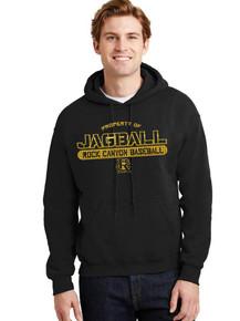 Hooded Sweatshirt w/RC Baseball Heat Press