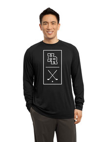 Dri-Fit Cotton Male Long Sleeve  T-Shirt - Highlands Ranch Golf