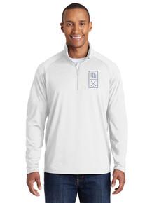 Embroidered Men's 1/4 Zip Smooth Pullover - HRHS Golf