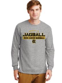 Gildan Unisex  Long Sleeve Ultra Cotton T-Shirt - RC Baseball