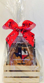 For the true chili lovers, this gift pack comes with 5 of our COME AND TAKE IT CHILI MIXES. Great stocking stuffers too!  Turn an ordinary meal into Cowboy Cuisine!