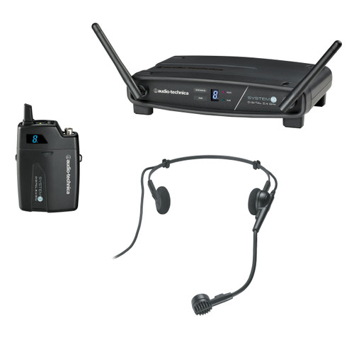 Audio Technica ATW-1101/H System 10 Stack-Mount Digital Wireless System