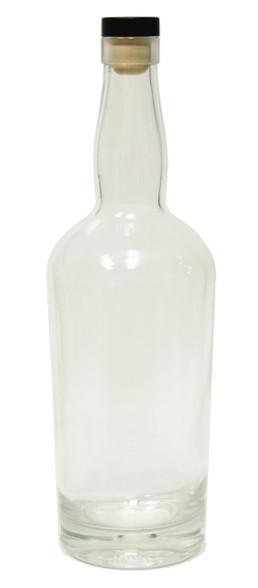 750ml Glass Liquor Bottle Case Of 6