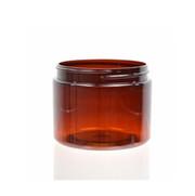 4 oz (120 ml) Amber Straight Sided PET Jar
