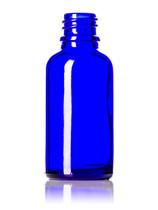 30ML (1oz.) Blue Glass Essential Oil Euro Bottle