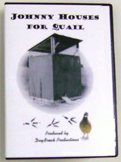 DVD - Johnny Houses For Quail
