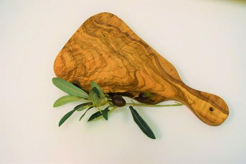 Olive Wood Handled Cheese Board Medium