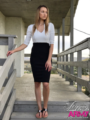 Pencil Dress- Miss Independent White