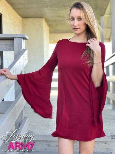 Dress- Cabernet
