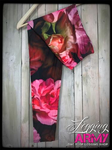Plus Size Sublimation- Painted Petals