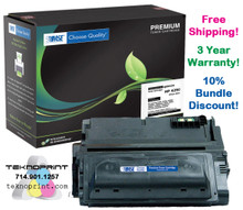 HP LaserJet 4200, 4250, 4300, 4350, 38A, 39A 42A, 42X, 45A, 45X Series High Yield Toner (Yield: 18,000)