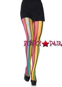 9941, Rainbow Net Pantyhose