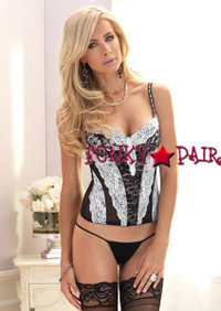 Padded Lace Bustier * 81378