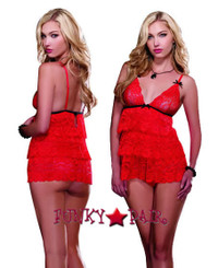 DG-8627 * Lace Soft Cup Baby doll