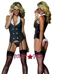 role play lingerie sexy costumes,DG-8014, Working Late