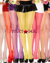 ML-90014, Glittery Fishnet Pantyhose
