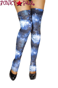 SF101, Blue Galaxy Thigh High
