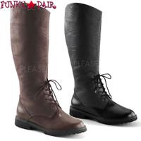 Gotham-103, Men's Pull On Knee Boots