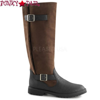 Gotham-108, Men's Pull On Boots with Expandable Shaft