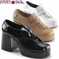 Jazz-01, 3.5 Inch Men's Platform Loafer