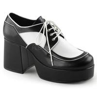 Jazz-04, 3.5 Inch Men's Spectator Oxford Shoes