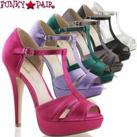 Lolita-20, 5 Inch T-strap Platform Sandal