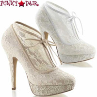 Lolita-32, 5 Inch Laceoverly Bootie