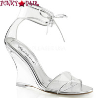 Lovely-460, 4 Inch Closed Back Wedge Made By PLEASER Shoes