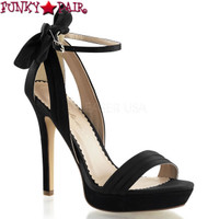 Lumina-25, 4.75 Inch Closed Back Sandal  Made By PLEASER Shoes