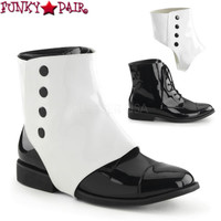 Dapper-06, Men Boot with Detachable Shaft Made by FUNTASMA