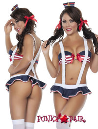 SLB4455, Playful Sailor Hottie