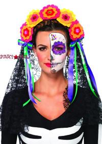 A2726, Flower Headband