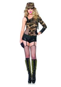 LA-85186, Camo Doll Costume