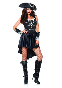 LA85210, Captain Black Heart Costume