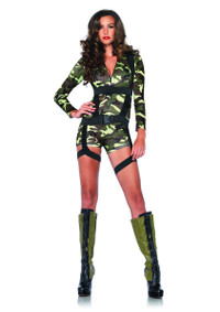 LA85292, Goin' Commando Girl Costume
