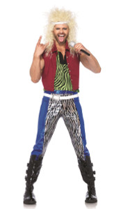 LA-85323, 80's Rock God Men Costume