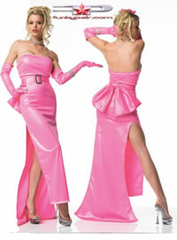 Pink diva costume