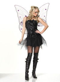 Gothic velvet,nymph dress (83087)