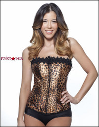 C1208, Leopard Corset Made by Mysery House