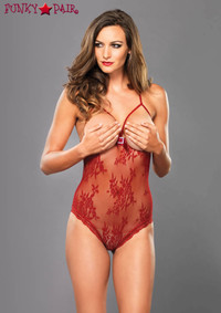 Lace Open Cup Teddy, LA89124