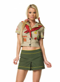 Camper girl costume (83124)