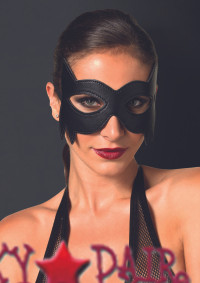 KI2001, Faux Leather Cat Eye Mask