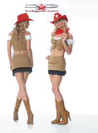 Rodeo girl costume