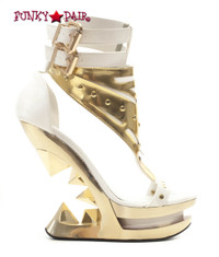 SteamPunk Wedge with Buckles (Solara)